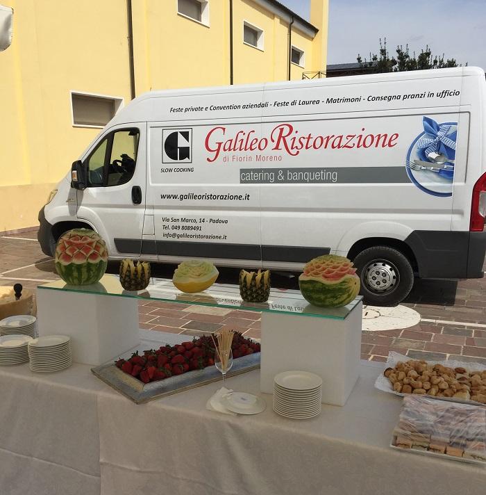 catering con Galileo ristorazione