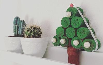 addobbi natalizi materiali riciclo