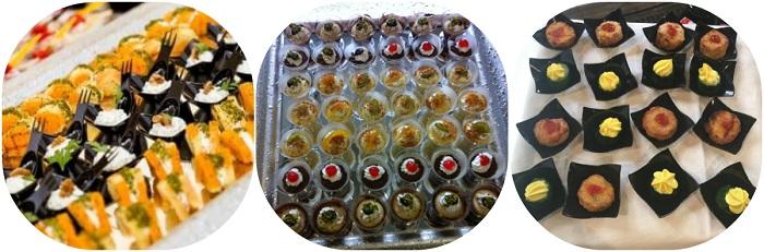 Catering a buffet per matrimonio