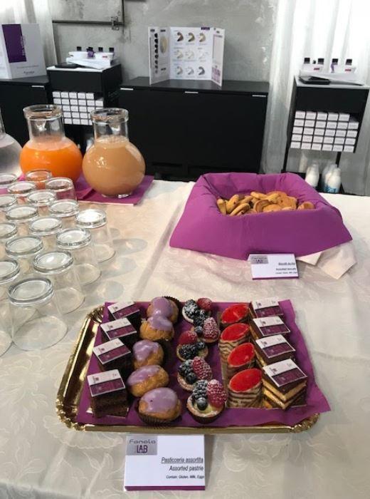 Catering per presentazioni commerciali